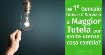 Fine Maggior Tutela dal 1 Gennaio 2021 per le PMI italiane