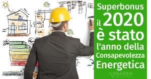 """Grazie al Superbonus, il 2020 è stato l'anno della """"Consapevolezza Energetica"""""""