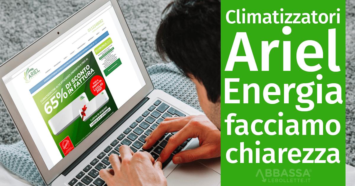 Climatizzatori Ariel Energia: facciamo chiarezza