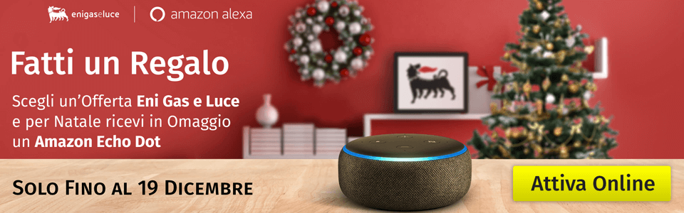 Promo ENI Amazon Echo Dot